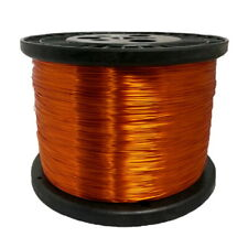 26 Awg Gauge Enameled Copper Magnet Wire 50 Lbs 6290 Length 00182 240c Nat