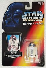 STAR WARS POWER OF THE FORCE R2-D2 WITH LIGHT-PIPE EYE PORT & RETRACTABLE LEG