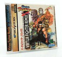 Virtua Fighter Remix - Jeu Sega Saturn JAP Japan complet (3)