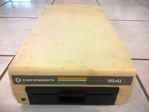 """Commodore 1541 (Light Color ie C64c) 5.25"""" Floppy Disk Drive For C64/128 (As-Is)"""