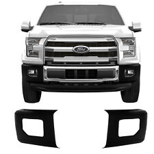 NEW BumperShellz Paintable Front Bumper Cover Side Caps / For 2015-2017 F150