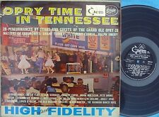 Opry time in Tennessee ORIG OZ LP VG+ '62 MONO GEM 63 Moon Mullican Country