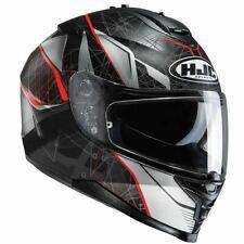 HJC IS-17 Daugava Red Full Face Motorcycle/motorbike Helmet Free Pinlock