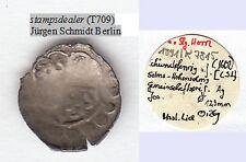 stampsdealer Solms-Hohensolms Schüsselpfennig Lich (T709) Jürgen Schmidt Berlin