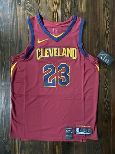 Nike Cleveland Cavaliers LeBron James ICON Authentic Jersey Size 44 M 863018-667