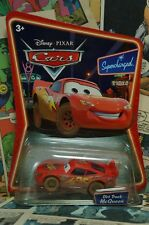Disney Pixar Cars Dirt Track McQueen Supercharged Die Cast