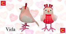 Target Spritz 2021 Valentine's Day Fabric Bird Figurine Featherly Friends Vida