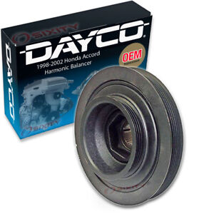 Dayco Engine Harmonic Balancer for 1998-2002 Honda Accord 2.3L L4 Cylinder kq