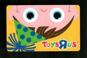 TOYS R US Upside Down Birthday Boy 2008 Gift Card ( $0 )