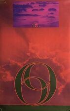 Original Vintage Poster 69 Sposato Yin Yang Blacklight Psychedelic 1960's Pin-up