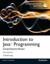 Introduction to Java Programming. Y. Daniel Liang, Liang, Y. Daniel, Good Book