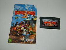 Donkey Kong Country 2 (Nintendo Game Boy Advance) GBA Japan w/ Manual