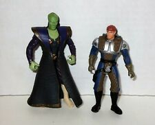 Star Wars Shadows of the Empire Dash Rendar + Prince Xizor Figures Kenner 1996