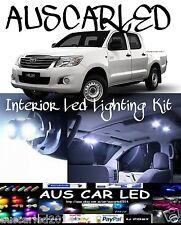 Toyota Hilux 1997-2005 Double Dual Cab Bright White LED Interior Light Kit