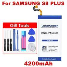 LOSONCOER 4200mAh EB-BG955ABA Battery for Samsung GALAXY S8+ G9550 S8 Plus S8Plu