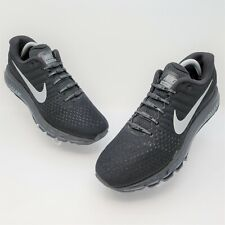 Nike Air Max 2017 Mens Black White Athletic Running Shoes Size US 9 849559-001