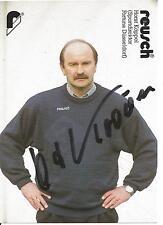 Autogramm Horst Köppel  Borussia Dortmund Mönchengladbach Fortuna Düsseldorf *