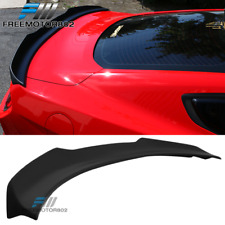 Fits 15-19 Ford Mustang Coupe H Style High Kick Trunk Spoiler Wing - ABS