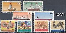 Berlin 1971+1977: Jugendmarken-Sätze Nr. 386-389 + 544-547, postfrisch! 1A!
