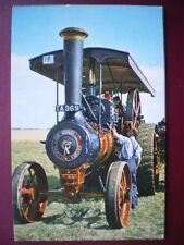 POSTCARD  BURRELL ROAD ENGINE NO 3798 'RED GAUNLET'