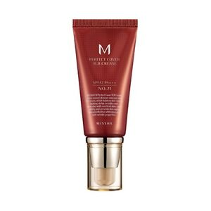[Missha] M Perfect Cover BB Cream 50ml SPF42 PA+++ #21 Light Beige