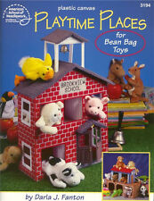 PLAYTIME PLACES Ark School Plastic Canvas Book NEW