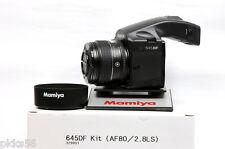 Mamiya 645 DF KIT (CAMERA BODY + 80mm/2.8 LS D lens) (SCHNEIDER GLASS ELEMENTS)