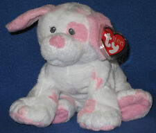 TY BABY PUPS PINK PLUFFIES - MINT with MINT TAGS