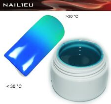 UV Thermo Gel 09 Blue - Turquoise 5ml / Nail Colorgel Color Colour