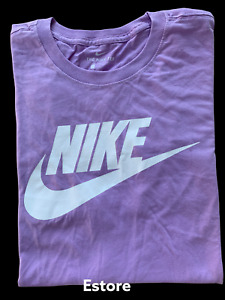 Men's NIKE T-SHIRT S-4XL Graphic Swoosh-Just-Do-It Logo Crew Athletic Fit Tee