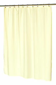 Hotel Collection Fabric Shower Curtain - Waffle Weave W Metal Grommet  Ivory