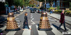 DOCTOR WHO - ABBEY ROAD - 12x24 POSTER