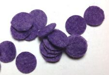 Phonograph Lid Felt Bumpers for Victrola & other Phonographs, Purple (16)
