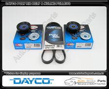Dayco Airconditioner Belt & Nuline Pulleys for HOLDEN BERLINA VX 5.7L V8 LS1