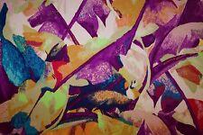 Multicolor Floral Print #466 Nylon Lycra Spandex 4 Way Stretch Swim Active BTY