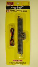 MICRO-TRAINS {99040905} STRAIGHT TRACK W/ELC CLIP & WIRE Z SCALE YANKEEDABBLER