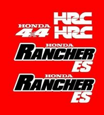 Honda Rancher S ES Stickers Decal Emblem Kit 2000-2006 350 TRX ES