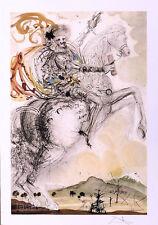 Salvador DALI Don Quixote P/Signed Litho Art Print + COA