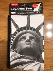 NEW ~ VERSO The New York Time Statue of Liberty Case for Kindle 3 Nook 1st