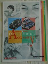Daihatsu Terios Kid & Terrios 1300 Accessory range brochure Nov 2000 Japanese