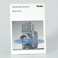 Rollei Anleitung - Flex 6001 Prof. ( Französisch )