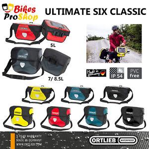 ORTLIEB Ultimate 6 CLASSIC - Mounting INCLUDED E225 - Bike Bicycle Handlebar Bag