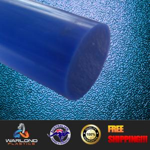 Blue Cast Nylon Rod - 40mm Diameter - Select Lengths - Free Shipping!