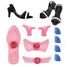 Small 9PCS Plastic Fondant Lady's Shoe Cutter Ladies High-Heeled Shoes Mold u120