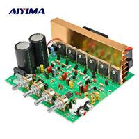 Dual AC 18V 24V 2.1 Channel Digital Subwoofer Amplifier Board Bass Stereo Audio