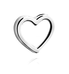 Anhänger Kette Herz* leichter Chirurgenstahl silberfarben * Liebe *NEU* #Love