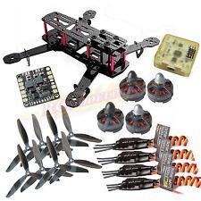 QAV250 ZMR250 Carbon Quadcopter MT2204Ⅱ 2300KV Motor BLHeli 12A ESC CC3D FC 6045