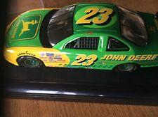 1/18 John Deere Motorsports #23 1997, Mib Chad Little 1996 Display Case Included