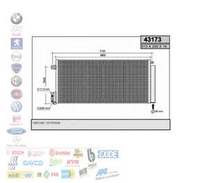 CONDENSATORE RADIATORE CLIMA LANCIA DELTA 3 CORSA D ABARTH GRANDE PUNTO 43173