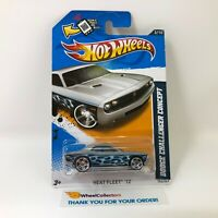 Dodge Challenger Concept #153 * SILVER Kmart * 2012 Hot Wheels * JC5
